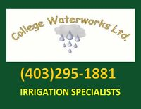 IRRIGATION SYSTEMS UNDERGROUND SPRINKLERS CROSS CONNECTION