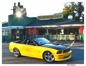 Mustang with Chip Foose Design