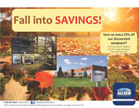 Fall into Savings at the ALLSCO Factory Outlet!!      Watch