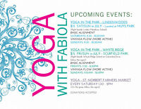 YOGA IN THE PARK! and in charleswood!