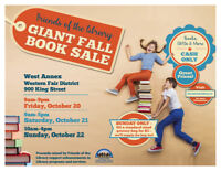 Giant Fall Book Sale
