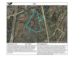 13 acre building lot close to Fredericton and Oromocto - REDUCED