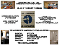 We do all kinds of renovations