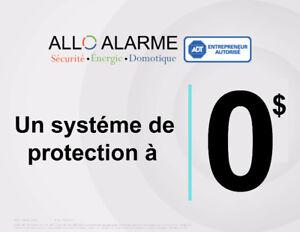 Système d'alarme sans-fil - 4 mois GRATUIT