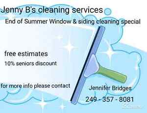 Get your windows & siding on your home cleaned before winter  Peterborough Peterborough Area image 1
