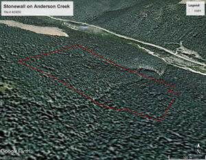 Historic Stonewall Legacy Placer gold claim on Anderson Cree