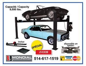 Lift stationnement / Parkinglift / Machine a pneu NEUF+SERVICE
