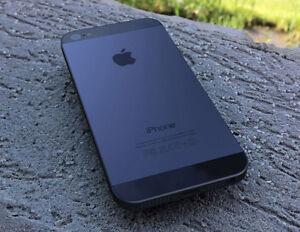 iPhone 5 Black Tules/Koodo 16GB, mint condition.