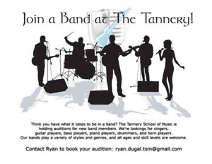 Band Program Looking for Members