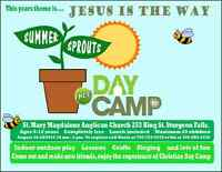 FREE SUMMER SPROUTS DAY CAMP