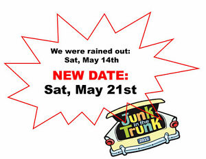 Junk In The Trunk Sale.BBQ - Yard Garage Sale NEW DATE