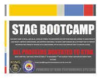STAG BOOT CAMP KICKOFF TONIGHT! OCTOBER 1st!