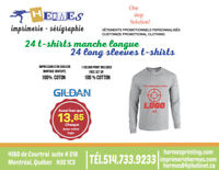 T-SHIRTS LONG SLEEVE-PRINTING-EMBROIDERY
