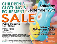Pomba Children's Clothing and Equipment Sale