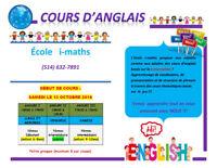 Cours d'anglais (CONVERSATION) !