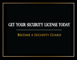 Online Security Guard Training Course * 20% OFF NOW $79.95 *