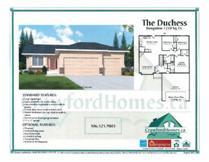 ONLY 3 LEFT $379K all in  NEW BUILD BUNGALOW IN Pilot Butte
