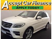Mercedes-Benz ML350 FROM £129 PER WEEK!