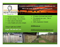 Best Value & Quality Fence Construction | 10 years in SK
