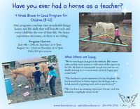 Have you ever had a horse as a teacher? For kids!