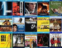 100 BRAND NEW SEALED FILMS on BLU-RAY $18 each, 100 for $1000