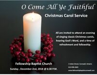 Christmas Carol Service - All Are Welcome!