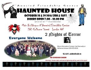ANNUAL HAUNTED HOUSE - Halloween