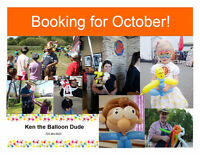 Ken the Balloon Dude appearances September