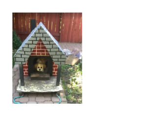"""Our """"Puppy's Palace"""" dog chalet is for sale"""