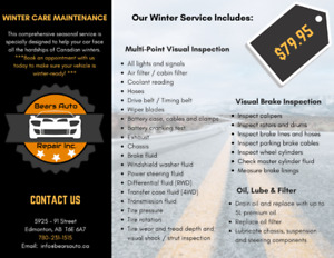 Is your vehicle WINTER READY??? ❄