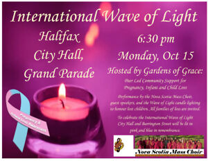 International Wave of Light/Pregnancy and Infant Loss Awareness
