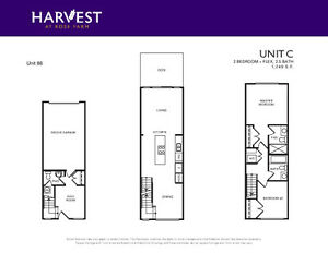 Brand New Townhouses for Rent!!!($1850 and $2050)