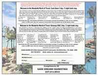 Free Vacation Voucher 3days/2nights: Las Vegas, Buffalo,Orlando+
