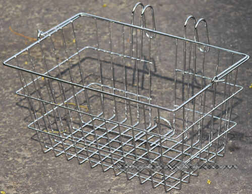 Fito Chrome Portable Basket for Beach Cruiser Bikes,Hight Quality Made in Taiwan