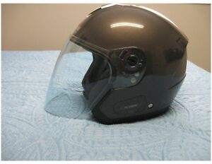 Nolan 3/4 helmet with face shield