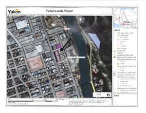 Prime land in downtown Whitehorse