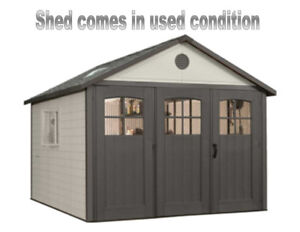 Lifetime Outdoor Storage Shed 11 foot x 11 foot
