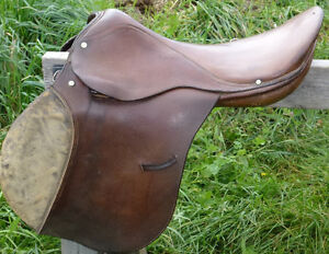 17 IN ENGLISH SADDLE - complete