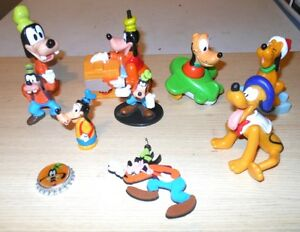 Disney Toy Figure Assortment Lots : Pooh, Minnie & More