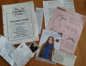 PATTERNS & NEEDLEWORK GUIDE also FABRIC