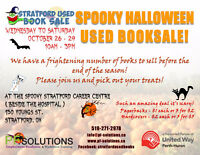 PF'S SPOOKY HALLOWEEN USED BOOKSALE
