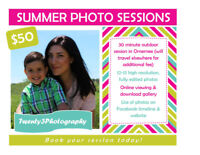 SUMMER PHOTO SESSIONS