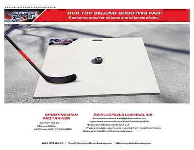 Shooting Star Pro Trainer Hockey Shooting Pad Board 30 X (Hockey Shooting Trainer)