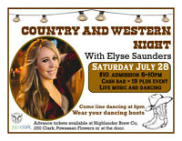 Country and Western Night!