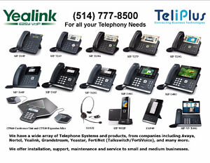 SUPER SPECIAL ON YEALINK IP VOIP TELEPHONES STARTING AT $75.00.