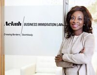 Evelyn Ackah and Ackah Business Immigration Law