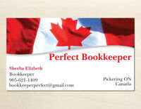 Perfect Bookkeeper ( Bookkeeping , Payroll , Taxation )