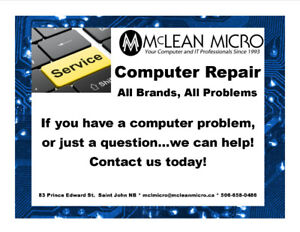 COMPUTER REPAIR  All Brands, All Problems.