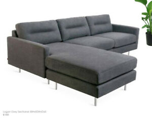 Gus Modern style, Logan Sectional!