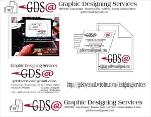 Graphic Designing Services -Fast -Easy -Great Prices Peterborough Peterborough Area image 1